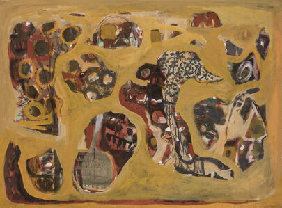 Gina Knee, 'Untitled Abstraction', circa 1945