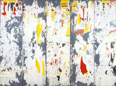 Raymond Hains, 'Sans titre n° 8J (série Dauphin)', 1990