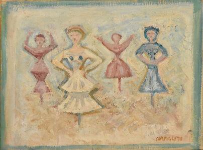 Massimo Campigli, 'Figure/Ballerina', 1971