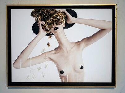 Efren Isaza, 'Teresa with Mask of Roses', 2009