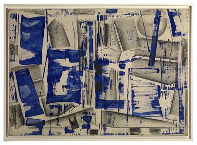 Herbert Zangs, 'Charcoal-Paintings', ca. 1957