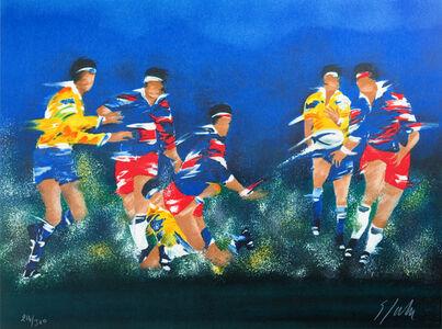 Victor Spahn, 'Rugby', 2007