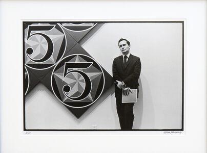 William John Kennedy, 'Robert Indiana with X-5', 1964