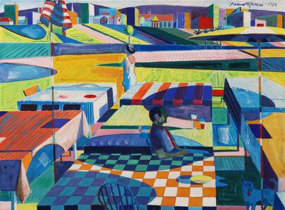 Roland Petersen, 'Park Picnic'