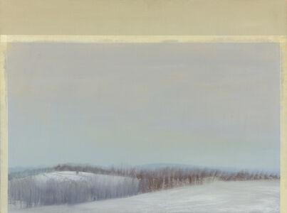Sylvia Plimack Mangold, 'Gray Winter Glaze', 1981-1982