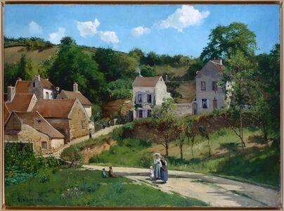 Camille Pissarro, 'The Hermitage at Pontoise (Les côteaux de l'Hermitage, Pontoise)', 1867