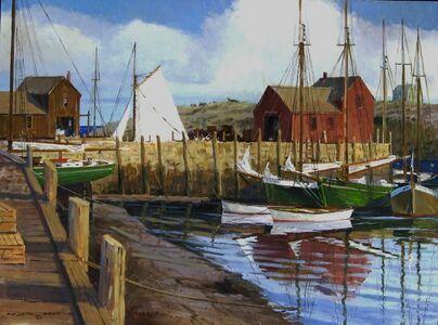Frederick Kubitz, 'Bradley's Wharf - Rockport, MA ', 2009