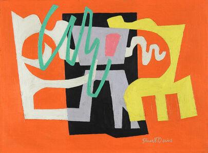 Stuart Davis, 'Feasible', 1949