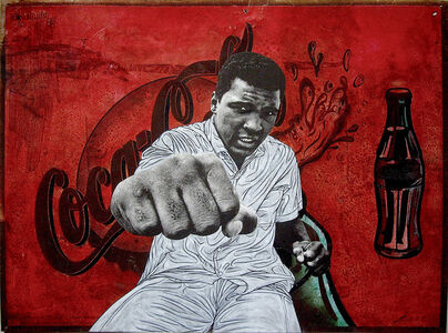 Pakpoom Silaphan, 'Ali Punches Right On Coke', 2016