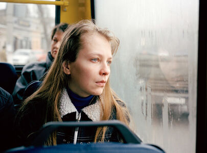 Andrea Diefenbach, 'Untitled (Natascha on Bus)', 2006