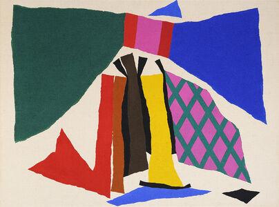 Alun Leach-Jones, 'Pink Lattice', 1978