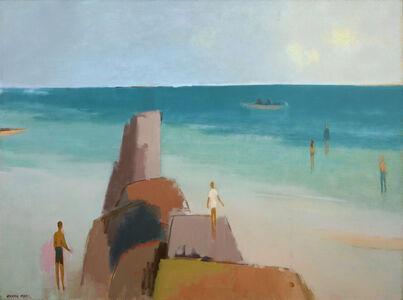 Herman Maril, 'Kendall Lane Beach', 1983