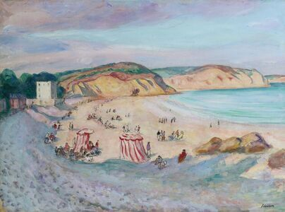 Henri Lebasque, 'La plage de Morgat', ca. 1923