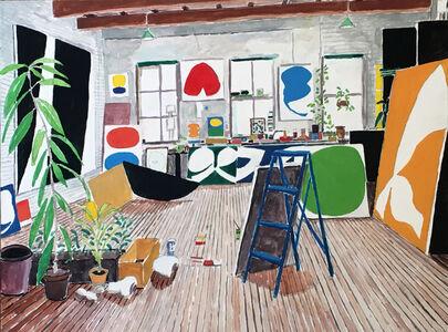 Damian Elwes, 'Ellsworth Kelly's Studio', 2019