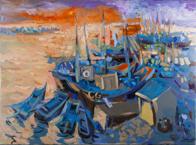 Duong Viet Nam, 'Mountains in the Sea', 2008