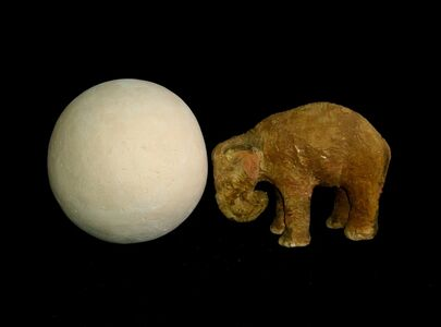 LAURA ROSETE, 'Elefante empujando una esfera ', 2009