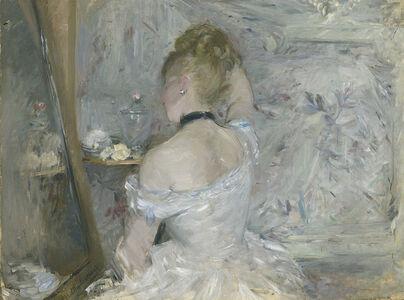 Berthe Morisot, 'Woman at Her Toilette', 1875-1880