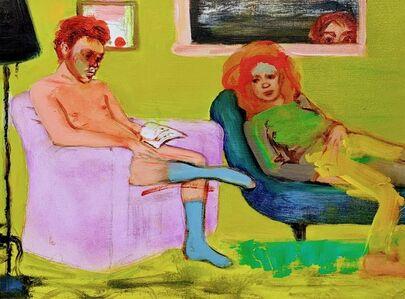 Eliza Griffiths, 'Psychoanalysis 6, blue socks  ', 2020