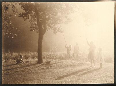 Léonard Misonne, 'Picking Fruit in the Sunlight', 1920s