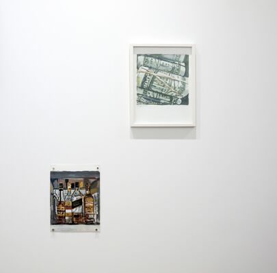 Charles Bukowski & Walter Robinson: There's A Bluebird In My Heart, installation view
