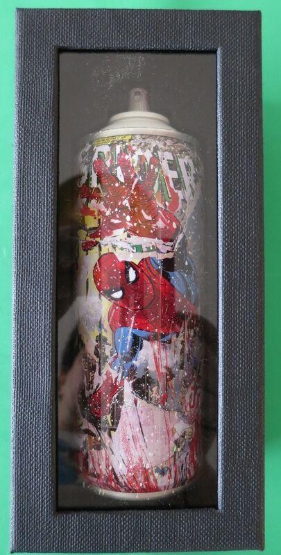 Mr. Brainwash, 'Spider Man ', 2019, Sculpture, Spray Can, AYNAC Gallery