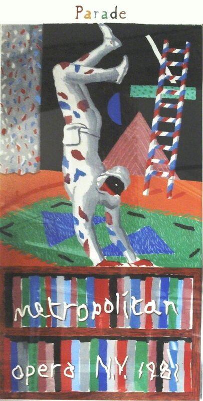 David Hockney, 'Harlequin from Parade', 1981, Print, Silkscreen, ArtWise