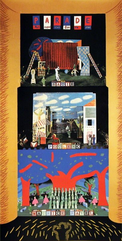 David Hockney, 'Triple Bill: The Rite of Spring, Le Rossignol, and Oepidus Rex', 1980, Ephemera or Merchandise, Serigraph, ArtWise