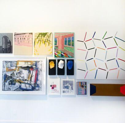 Galleri Urbane at Seattle Art Fair 2016, installation view