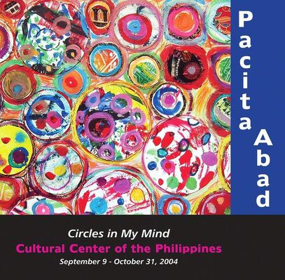 PACITA ABAD: Circles on My Mind, installation view