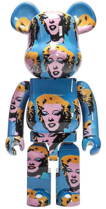Andy Warhol, 'Andy Warhol Marilyn Monroe 1000% Bearbrick Figure', 2020, Ephemera or Merchandise, Vinyl figure, Lot 180