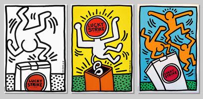 Keith Haring, 'Lucky Strike (I, II & III)', 1987
