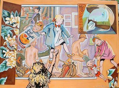Louis Recchia, 'Seurat's Studio with Picasso ', 2020