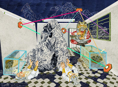 Howie Tsui 徐浩恩, 'Parallax Chambers (White Camel Mountain No.2)', 2018