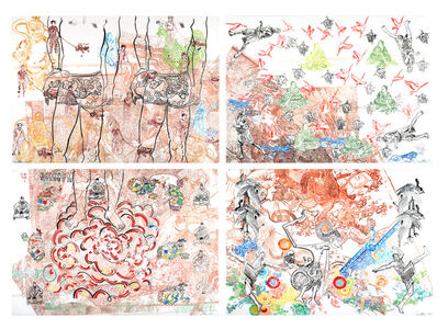 Daniel Heyman, 'First Untitled War Series', 2004