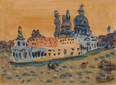 Ryuzaburo Umehara, 'Venice', 1956
