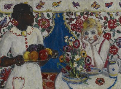 Florine Stettheimer, 'Jenny and Genevieve', ca. 1915