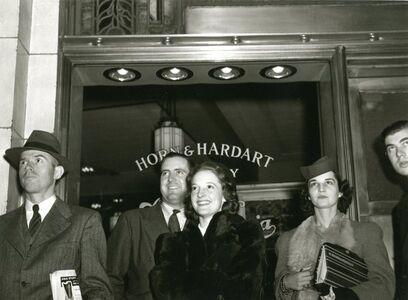 Louis Clyde Stoumen, 'Horn & Hardart', 1940