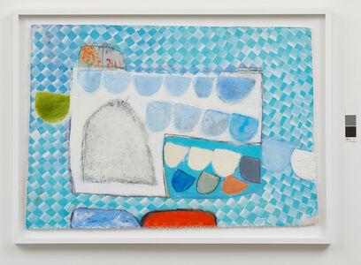 John Blackburn, 'Forms on a Blue Plain ', 2019