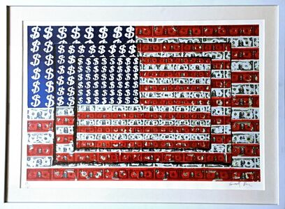 Emiliano Gironella Parra, ' Homenaje a Jasper Johns (Homage to Jasper Johns)', 2003