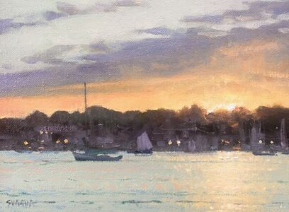 Mark Shasha, 'Harbor Sunset', 2019