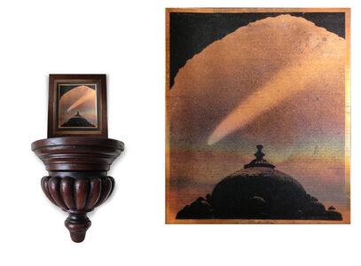 Mehreen Murtaza, 'Comet Bennet over Delhi, Humayun's Tomb March 1970', 2013