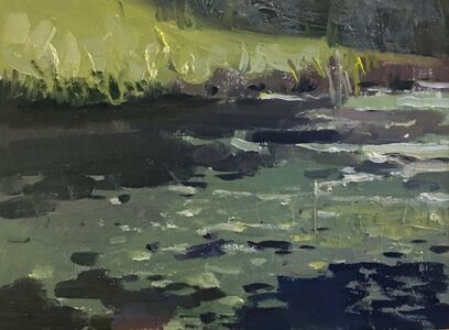 Jason Sacran, 'Rocks and Water', 2018