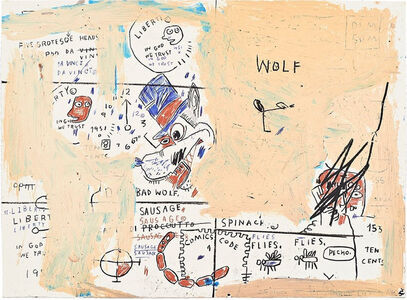 Jean Michel Basquiat 727 Artworks Bio Shows On Artsy