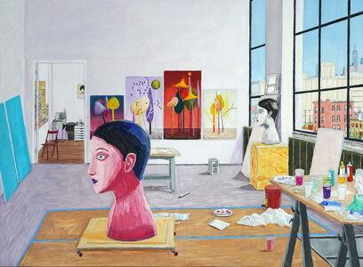 Damian Elwes, 'Nicolas Party's Studio', 2020