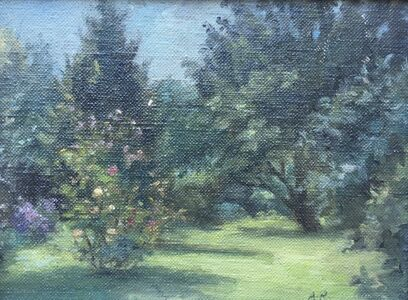 Alvin Ross, 'Summer Garden', Mid-20th century