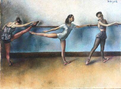 Isaac Soyer, 'Three Ballerinas', ca. 1935
