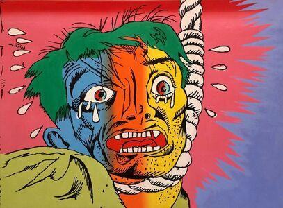 Gary Panter, 'Untitled (Hanging Man)', 1989