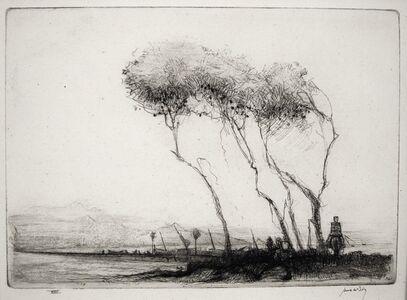 James McBey, 'Benicasim', 1911