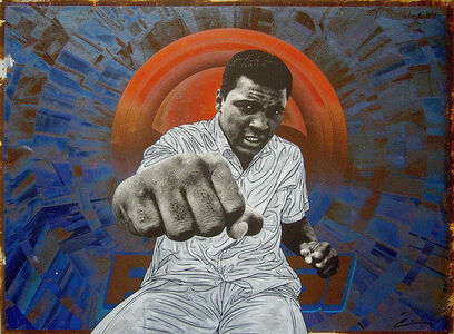 Pakpoom Silaphan, 'Ali Punches Right On Pepsi', 2016