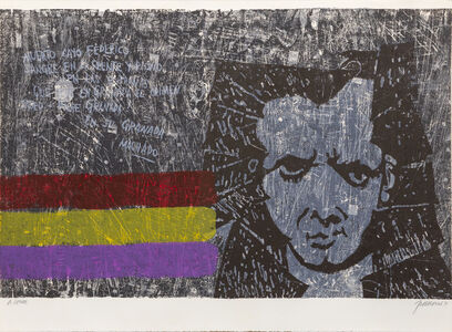 Antonio Frasconi, 'A Lorca', 1970